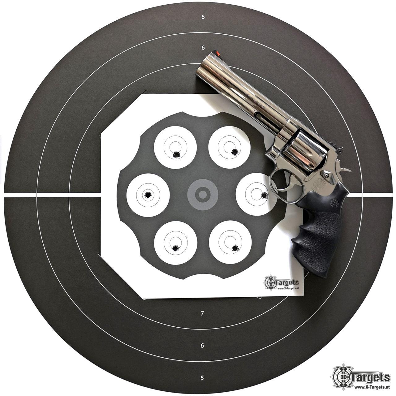 Revolver Target 357
