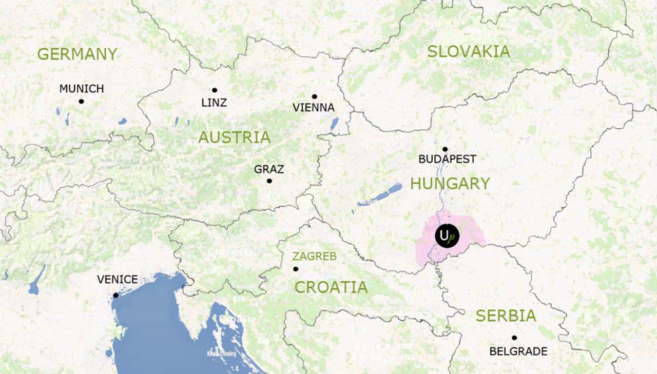 Ungarn jagen angeln reiten karte far