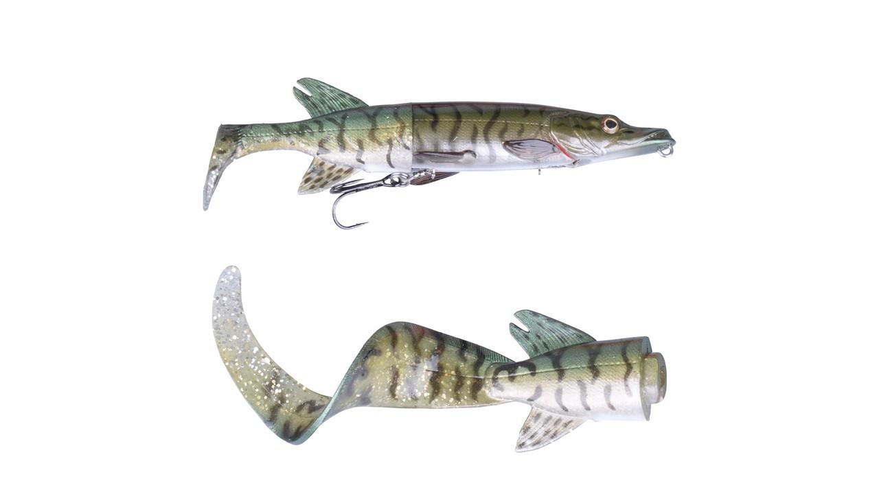 Savage Gear 3D Hybrid Pike 17cm 45g Green Silver Pike