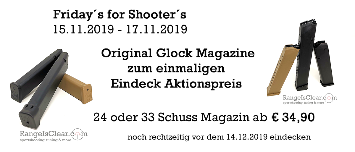!! Friday´s for Shooter´s !! Original Glock Magazine