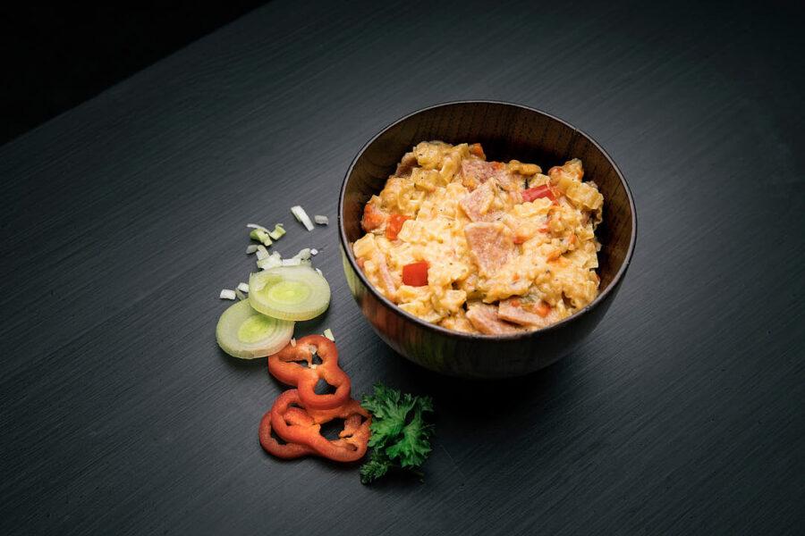1748 7036480017484 rfm kremet pasta med svinekjott og urter creamy pasta with pork
