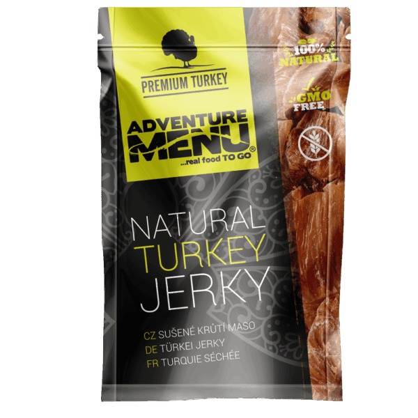 3 D Turkey jerky small