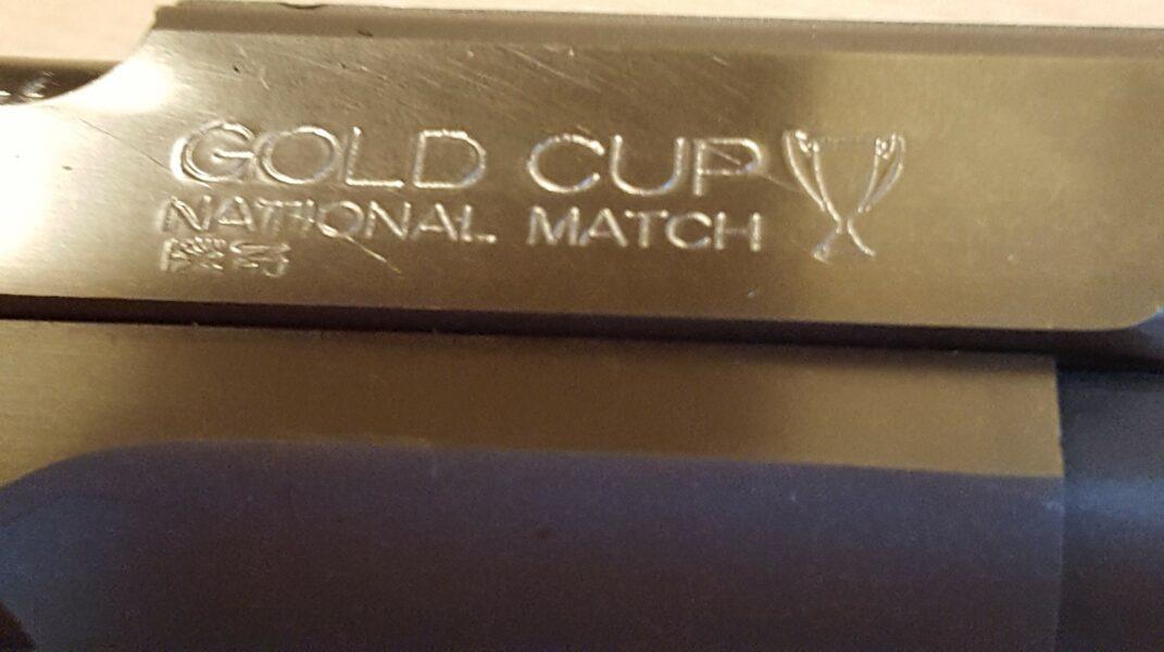 Colt Gold Cup 193703