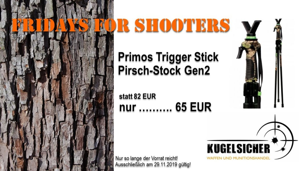 FRIDAYS FOR SHOOTERS Trigger Stick