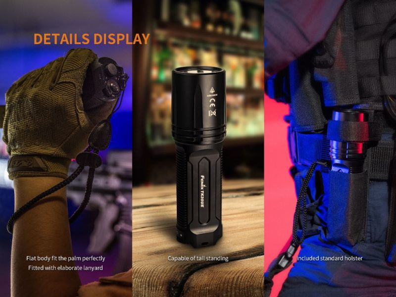 Fenix TK35 Ultimate Edition 2018 UE Cree XHP70 3200 Lumen Taschenlampe LED Lampe b13