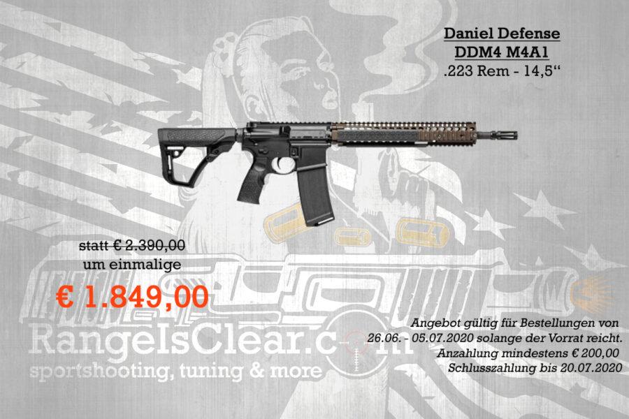 Halbautomatenwoche Angebot Daniel Defense M4 A1
