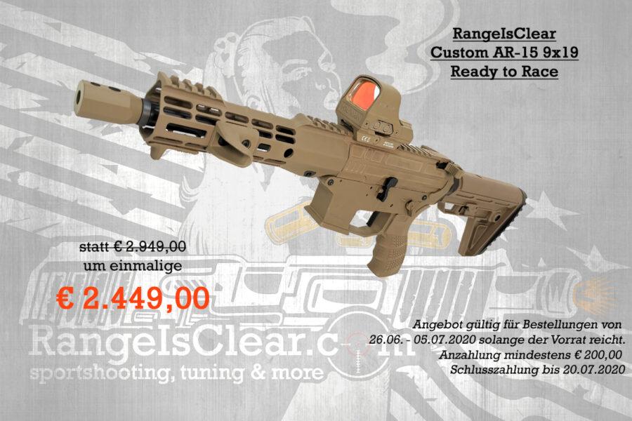 Halbautomatenwoche Angebot RIC Custom AR FDE