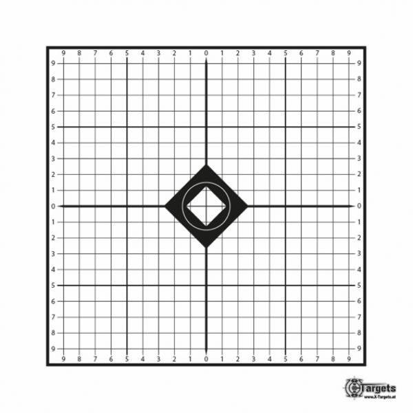 MRAD Target 26x26cm