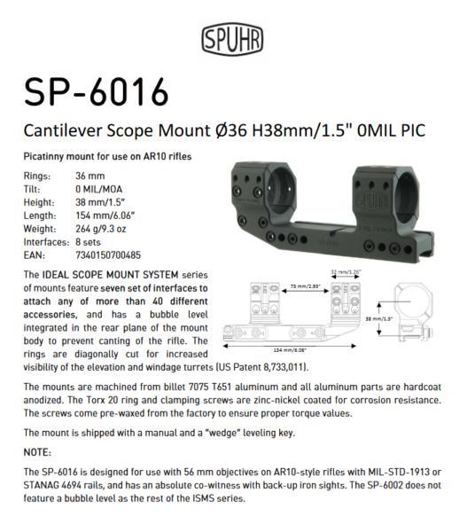 SP 6016
