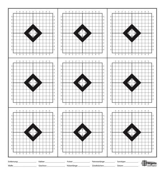 SX9 Target 50x52