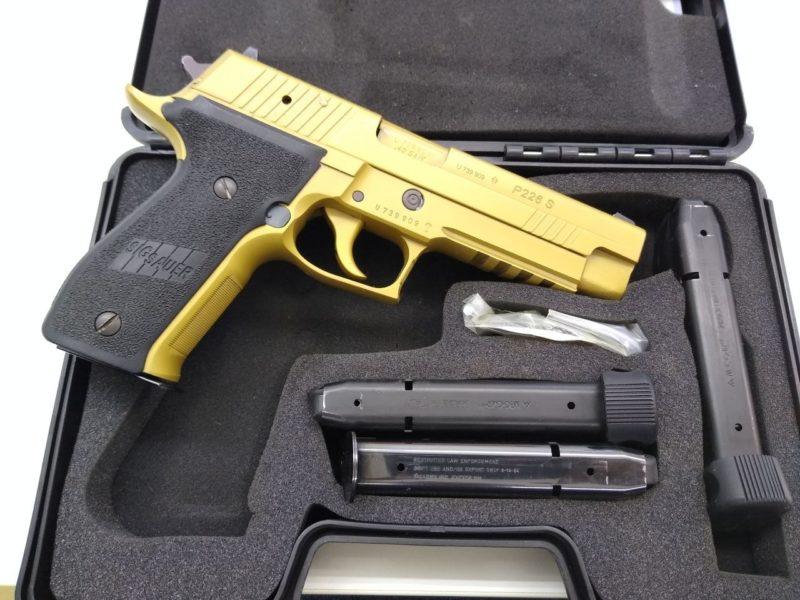 Sig Sauer P226 S FLUNA Gold