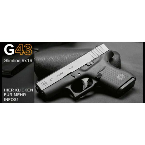 Kurzwaffen pistolen glock 43