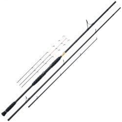 WFT Black Hornet River Feeder, 3,60m, bis 150g