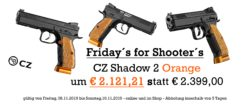 !! Friday´s for Shooter´s !! CZ Shadow 2 Orange