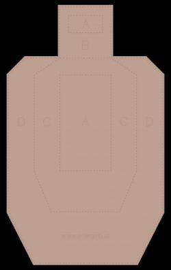 Metric Cardboard Target (20 Stk.)