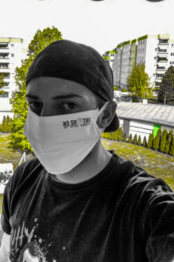 Umweltfreundliche MNS Maske