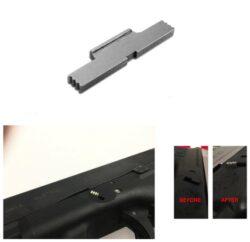Magorui Erweiterte Edelstahl Rutsche Lock- Hebel für ALLE Glock Modelle
