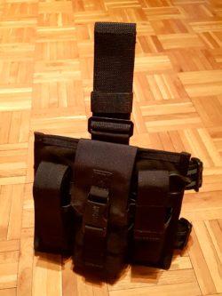 Blackhawk Omega Elite Double Mag Pouch (Magazintasche, Leg Plate)