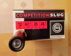 25 STÜCK RWS/Geco Competition Slug Kal. 12 67,5mm 28,5g. Fotos. Festpreis