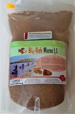 LIKRA Big -fish Micros 1,5mm - 1,0kg