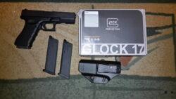 Glock 17 Gen4 4,5mm BB Co 2 Pistole