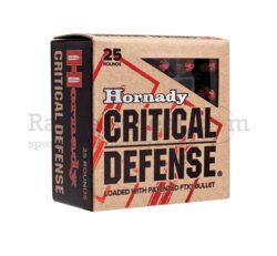 Hornady Critical Defense 9x19 115 grs FTX