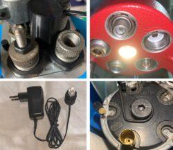 PRESSENBELEUCHTUNG Dillon 650 750 550 Hornady Lock Load LNL Beleuchtung – Light – Licht