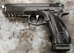 CZ 75 SP-01 Shadow Mamba Cal. 9x19 Black