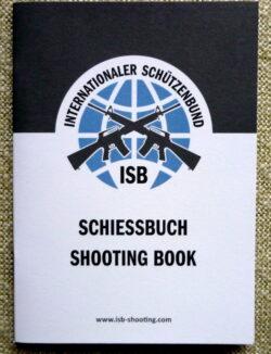 Schießbuch, Schützenbuch als Trainingsnachweis