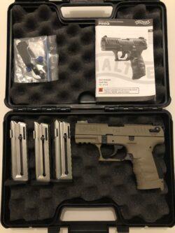 Walther P22Q mit viel Zubehör