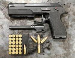 Fk Brno PSD Multi Kaliber Pistole Kal. 7,5FK Inkl. WL 9mm Luger
