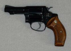"""Smith & Wesson Mod. 37 Airweight 3"""", Combat Griffschalen, .38 Special"""