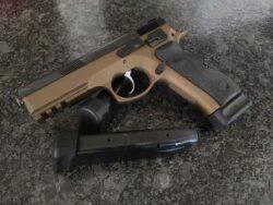 CZ 75 SP-01 Shadow Burnt Bronze