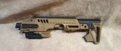 Rony Tactical Schaft für Glock 17& 19 Schwarz& Grün