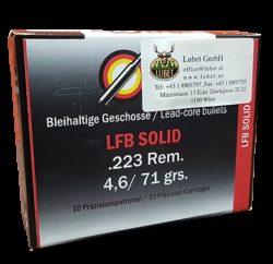 LFB Solid .223 Rem. 71grs/4,6g