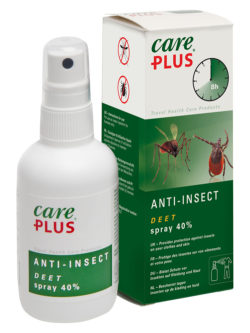 CAREPLUS ANTI-INSECT DEET 40 % SPRAY 60 ML