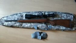 KK CZ 452 Varmint .22lr Kleinkaliber mit 10-40x56 Zielfernrohr, Tasche, Picatinny Zweibein Adapter und überarbeitetem Abzug
