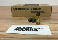Fiocchi Black Mamba 9x19mm