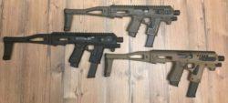 CAA Tactical Micro Roni für Glock (OD Green, FDE, black)