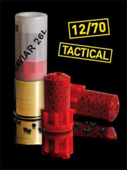 DDupleks 12 Kaviar 26L Tactical 12/70 10 Schuss
