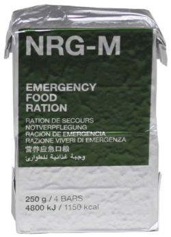 NOTVERPFLEGUNG, NRG-M, 250 G, (4 RIEGEL)