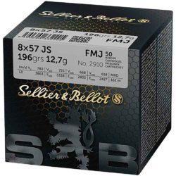 S&B Schütte 8x57IS 50 Schuss Packung