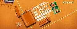 Olight Baton 3 & I3T - Kleine Taschenlampe Bundle