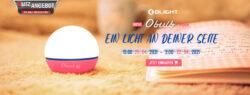 Olight Obulb Lichtquelle in Kugelform - Pink
