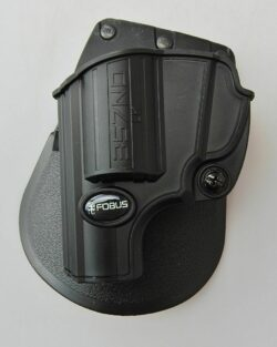 FOBUS 357ND Passive Retention Holster with Adjustment Screw For :Smith & Wesson most 5-shot J Frame .357 & .38 S&W special +P, not including shrouded barrels LEFT HAND
