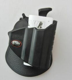 FOBUS THUMB RELEASE ROTATING PADDLE HOLSTER w SAFETY FOR BERETTA M9