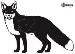 Zielscheibe Fuchs (5 Stk.)