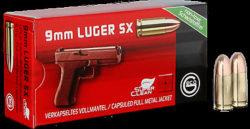 Geco 9mm Para VM SX 124grs/8,0g Tombak/Sintox