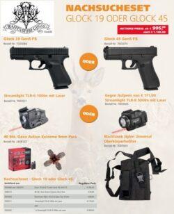 Nachsucheset  Glock 19 oder Glock 45