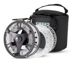Greys GTS 500, Fliegenrolle